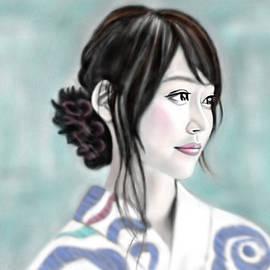 Yoshiyuki Uchida - Kimono girl No.12