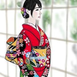 Yoshiyuki Uchida - Kimono Girl No.18