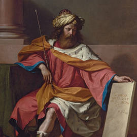 Guercino - King David