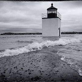 Jeff Folger - King tide - Derby Wharf Lighthouse