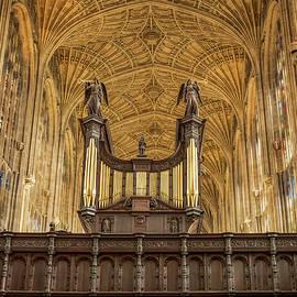 Kings College in Cambridge by Jean Noren