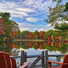 Juergen Roth - Kingsbury Pond in Medfield Massachusetts