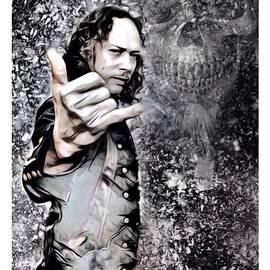 Scott Wallace - Kirk Hammett Illustration