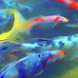 Koi - Abstract by Nikolyn McDonald