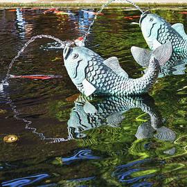 Linda Brody - Koi Pond Fountain I