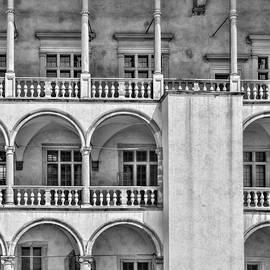 Krakow Arches by Sharon Popek