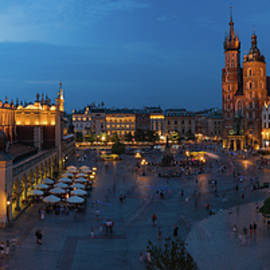 Krakow Poland Main Square - Steve Gadomski