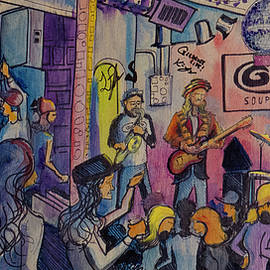 Kris Lager Band At The Goat by David Sockrider