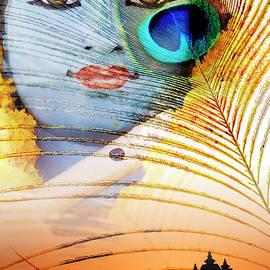 Krishna Temple Sunrise by Tim Gainey