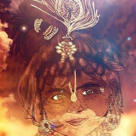 Michael African Visions - Krishna through star light