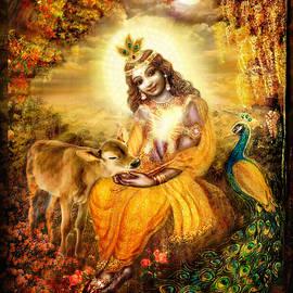 Krishna with the Calf by Ananda Vdovic
