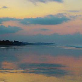 Felipe Adan Lerma - la Casita Playa Hermosa Puntarenas - Sunrise One - Painted Beach Costa Rica Panorama