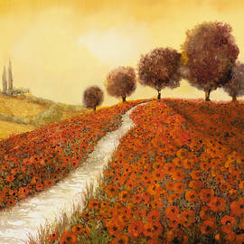 la collina dei papaveri by Guido Borelli