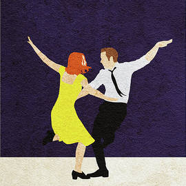 La La Land Alternative and Minimalist Poster - Ayse Deniz