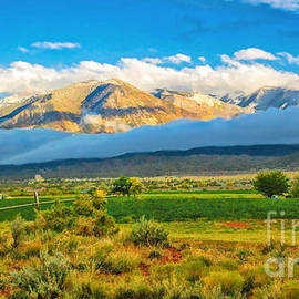 La Sal Mountains and Castle Valley at Sunset by Priscilla Burgers