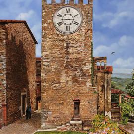 Guido Borelli - la torre-Montecatini Terme