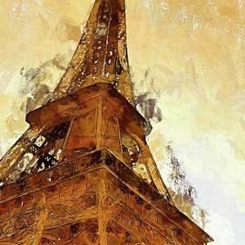 La Tour Eiffel by Dragica Micki Fortuna