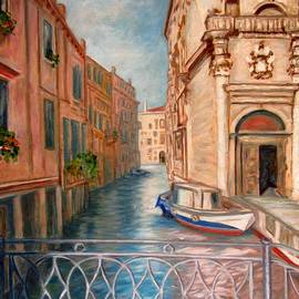 Charming Lacy Bridge of Venice by Helen Sviderskis