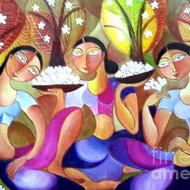 Ceylon Art Gallery - Ladies In The Jungle