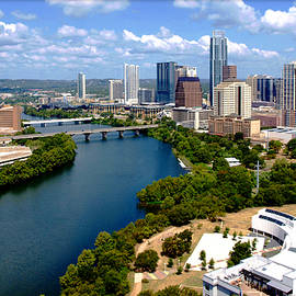 Lady Bird Lake Austin Texas by James Granberry