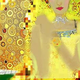 Pamela Smale Williams - Lady In Gold Whimsy