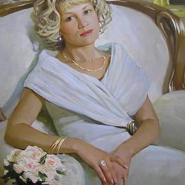 Lady in White by Helen Kishkurno