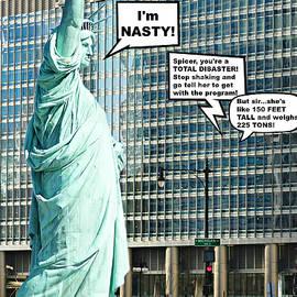 Aurelio Zucco - Lady Liberty Joins The Women