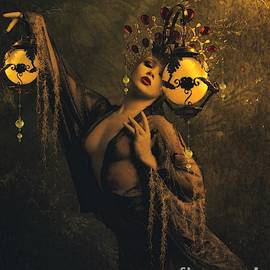 Ali Oppy - Lady of the golden lamps