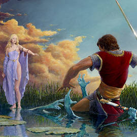 Richard Hescox - Lady of the Waters