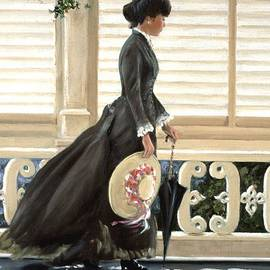 Michael Swanson - Lady on a Porch