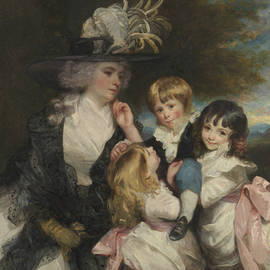 Lady Smith and Her Children - Joshua Reynolds