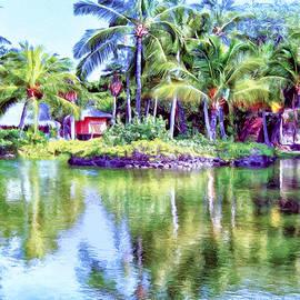 Lagoon at Kona Village - Big Island by Dominic Piperata