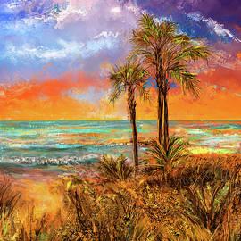 Laguna Beach At Sunset by Lourry Legarde