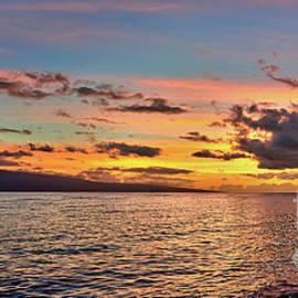 Eddie Yerkish - Lahaina Sunset Panorama