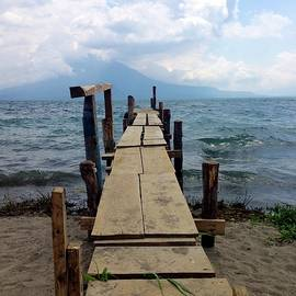 Lake Atitlan Dock by Brian Eberly