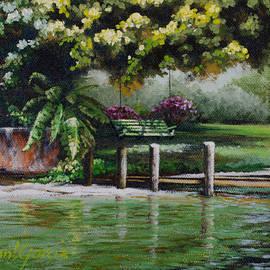 Joan Garcia - Lake Carroll Morning