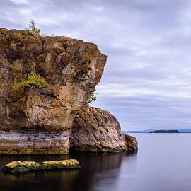 Alan Brown - Lake Champlain Rock