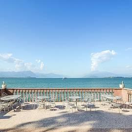 Lake Garda, Italy Panorama by Alexandre Rotenberg