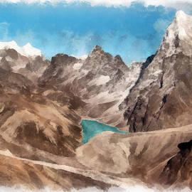 Sergey Lukashin - Lake in the Hills