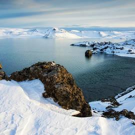 Matthias Hauser - Lake Kleifarvatn Iceland in winter
