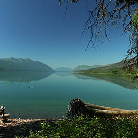 Lake McDonald Moody Morning by Christiane Schulze Art And Photography