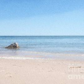 Lake Michigan Abstract by Mary Machare