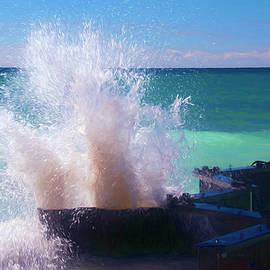 Trey Foerster - Lake Michigan Wave Crash