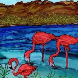 Lake Nakuru Flamingos by Eunice Warfel