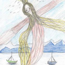 Heidi Sieber - Lake nymph rising