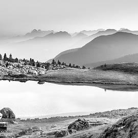 Lake of Valparola by Mah FineArt