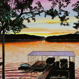 Bill Dunkley - Lake Ozarks Evening Sunset