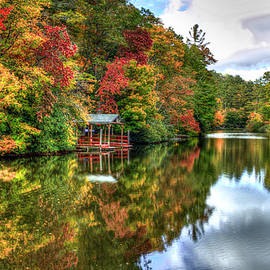 Reid Callaway - Lake Sequoyah Reflection Of Beauty Highlands North Carolina Art
