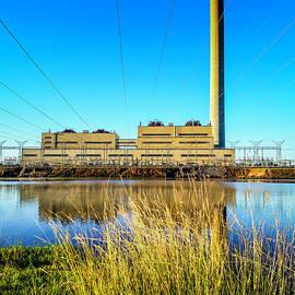 Lake Sinclair Georgia Power Plant by Jennifer Stackpole
