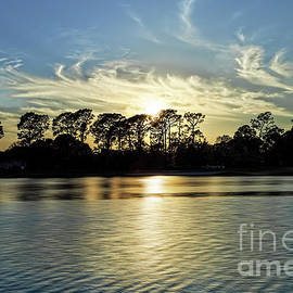 Bluewater Bay Lake Sunset by Kay Brewer